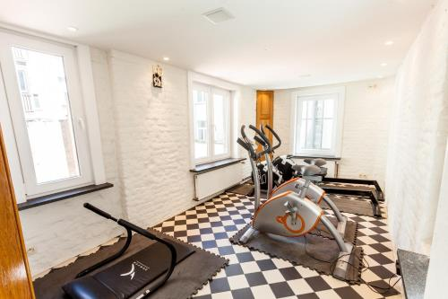 Das Fitnesscenter und/oder die Fitnesseinrichtungen in der Unterkunft Malecot Boutique Hotel