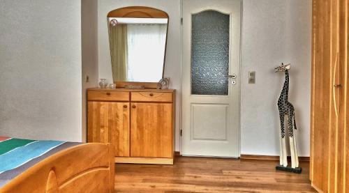 "A bathroom at Ferienhaus ""Auberge Jolie"""