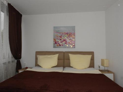 Ein Bett oder Betten in einem Zimmer der Unterkunft La Chacra Pension