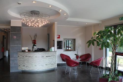 Hall o reception di Hotel Residence Aurora