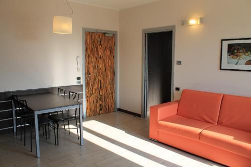 Area soggiorno di Hotel Residence Aurora