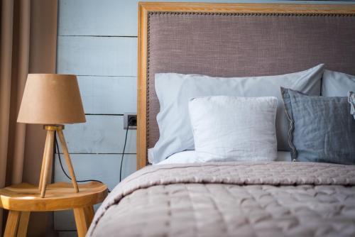 Кровать или кровати в номере Apartamento Avitan