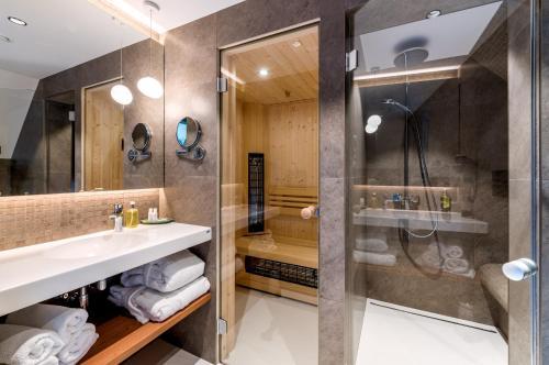Ванная комната в Yard Resort