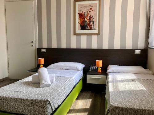 Letto o letti in una camera di Mastroianni's Bed & Bistrò