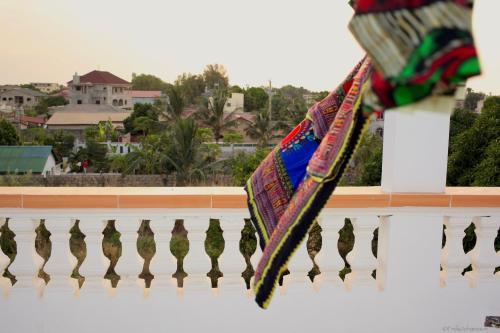 A balcony or terrace at Dabo House