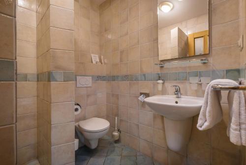 Kúpeľňa v ubytovaní Chateau Krakovany