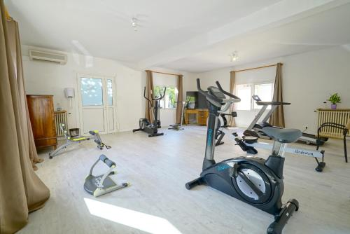 Gimnasio o instalaciones de fitness de Hotel Stella Di Mare
