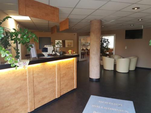 Lobby/Rezeption in der Unterkunft Euro-Hotel