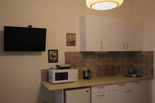 A kitchen or kitchenette at Liza's ground floor apartment