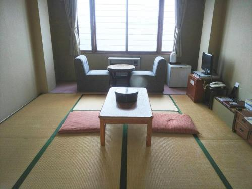 A seating area at Hakodate Park Hotel