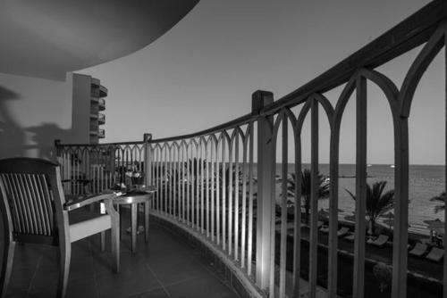 Een balkon of terras bij Royal Star Beach Resort