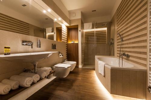 A bathroom at K4 APARTHOTEL KRAKÓW