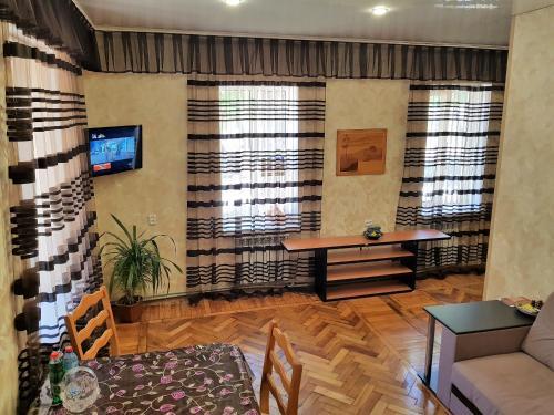 Гостиная зона в Apartment at Karla Marksa 9
