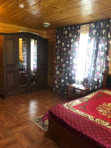 Кровать или кровати в номере Мини-отель Дива
