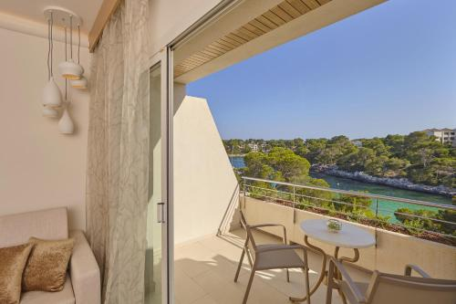 Balkon lub taras w obiekcie Blau PortoPetro Beach Resort & Spa
