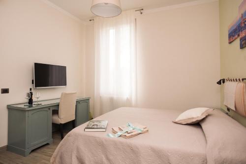 Letto o letti in una camera di Florence Shabby Chic Home