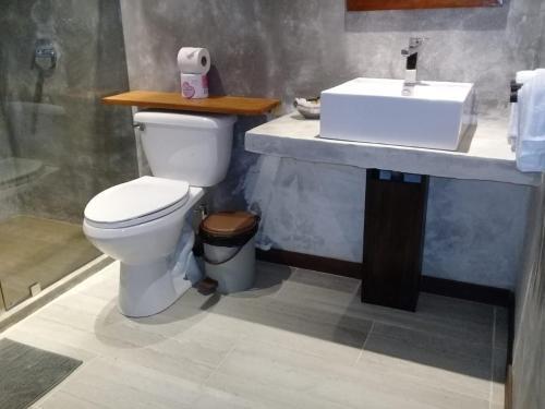 Un baño de Hotel Finca Maresia