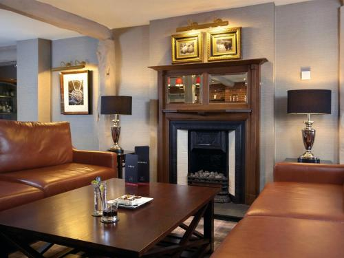 A seating area at Macdonald Tickled Trout Hotel