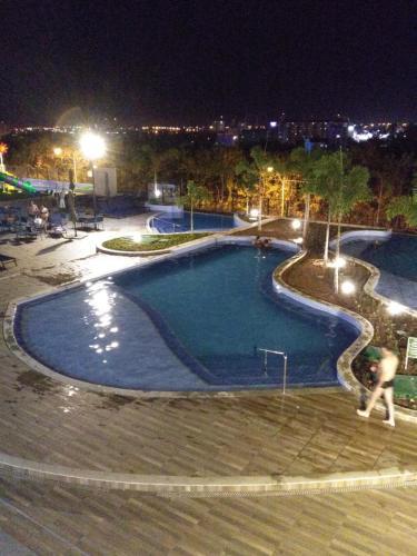 Uma vista da piscina em Alta Vista Thermas Resort ou nos arredores