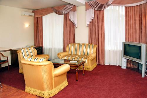 Гостиная зона в Гостиный Дом Визитъ