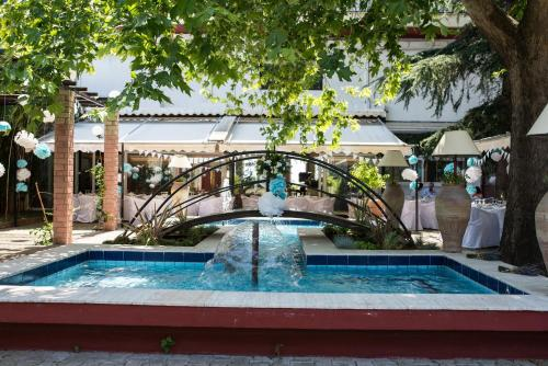 The swimming pool at or close to Natassa Hotel