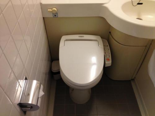 A bathroom at Hotel Horidome Villa