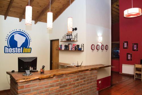 El lobby o recepción de Hostel Inn Calafate