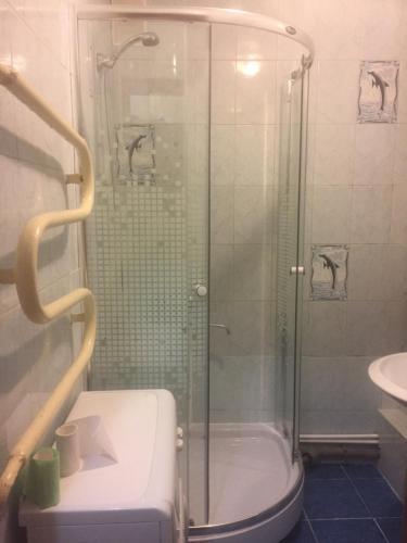 Ванная комната в Apartments at Lomonosova 7