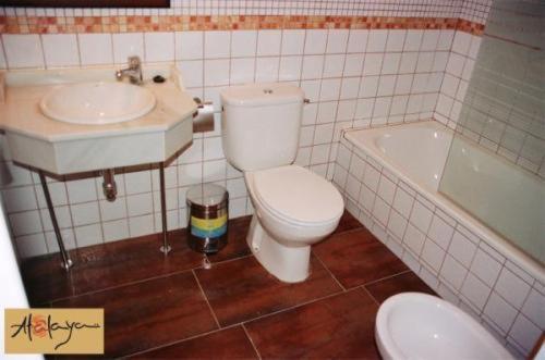 Un baño de Hostal Atalaya