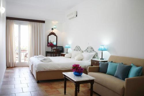 Cama o camas de una habitación en Villa Martha