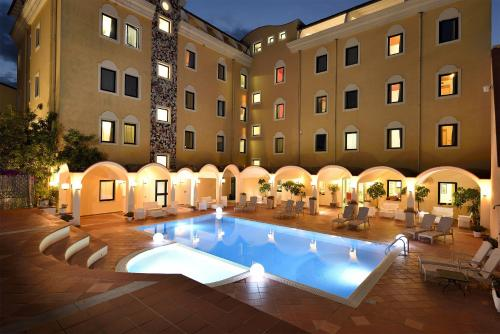 The swimming pool at or near Orrì Hotel
