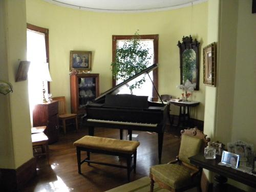 A seating area at Lehmann House Bed & Breakfast