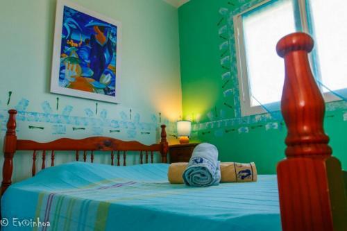 Un ou plusieurs lits dans un hébergement de l'établissement Les Gîtes Les Hauts de Montmain