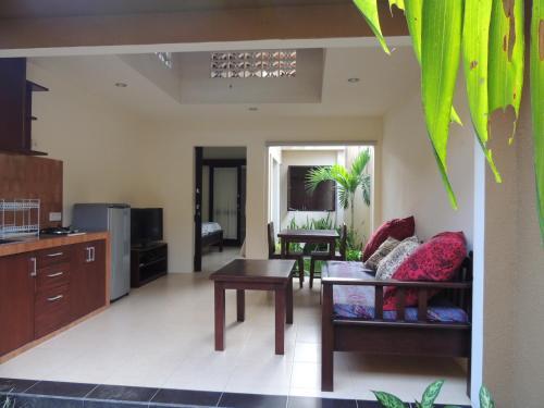 A seating area at Praschita Bali