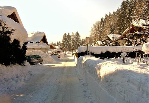Ferienhaus- Kapeller during the winter