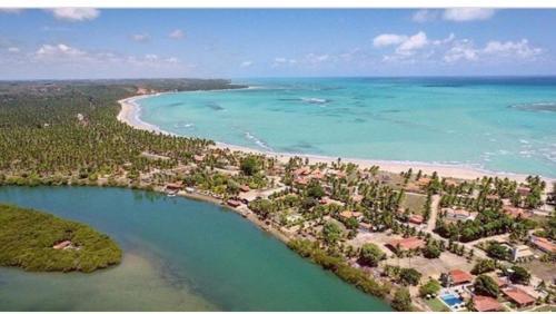 A bird's-eye view of Estalagem Thereza da Praia