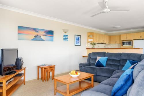 A seating area at 2/80 Cooloola Drive - Comfortable and cosy unit enjoying ocean views and views to Fraser Island