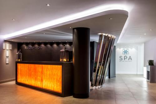 The lobby or reception area at The Daffodil Hotel & Spa