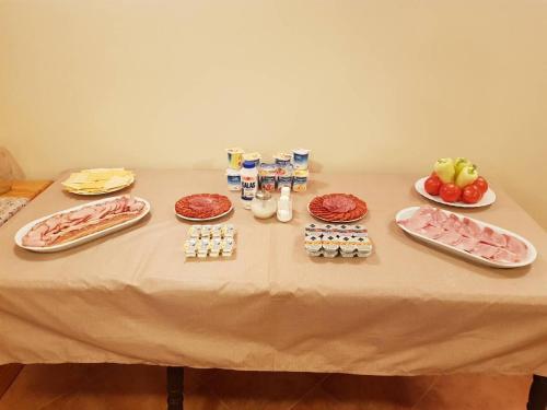 Επιλογές πρωινού για τους επισκέπτες του Hotel Palota