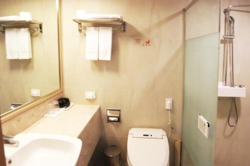 A bathroom at Mstay Hotel