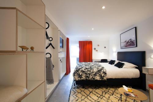 Un ou plusieurs lits dans un hébergement de l'établissement Ô Macra Guesthouse
