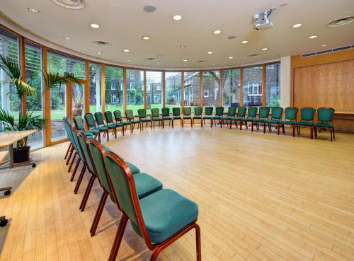 The business area and/or conference room at The Royal Foundation of St Katharine