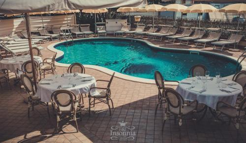 Vista de la piscina de Hotel Insonnia o alrededores