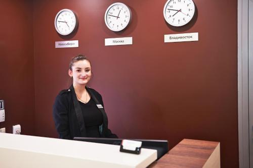 Лобби или стойка регистрации в Отель Фортон