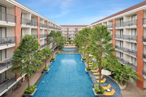 A view of the pool at Swiss-Belhotel Tuban or nearby