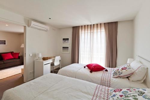 Ein Bett oder Betten in einem Zimmer der Unterkunft bnapartments Palacio
