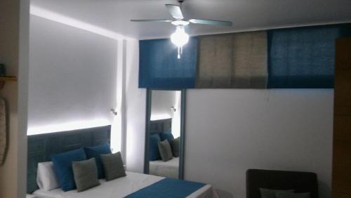 Zona de estar de PLAYA DE JOROS Apartamentos Morro Jable