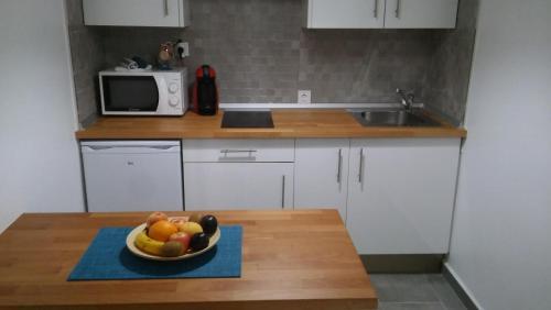 Una cocina o zona de cocina en PLAYA DE JOROS Apartamentos Morro Jable
