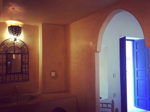 A bathroom at Riad Marokko Hautnah