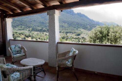 Balcone o terrazza di Turismo Rurale Belvedere Pradonos